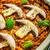 pollo · riso · funghi · pomodori · erbe - foto d'archivio © Peteer
