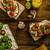 kiraz · domates · sos · tost · taze · portakal · suyu - stok fotoğraf © Peteer