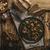 asztal · kávé · tea · sült · friss · gombák - stock fotó © Peteer