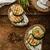 kenyér · sajt · sült · paradicsom · friss · bazsalikom - stock fotó © peteer