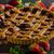 pasta · taze · karpuzu · rustik · ahşap · masa - stok fotoğraf © peteer