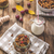 home baked granola with nuts honey and pieces of fruit stock photo © peteer