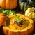 сливочный · тыква · суп · свежие · хлеб · Хэллоуин - Сток-фото © peteer
