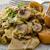 pasta · funghi · verde · formaggio · piatto · vita - foto d'archivio © peteer