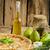 fransız · doldurulmuş · peynir · armut · rokfor · lezzetli - stok fotoğraf © peteer