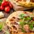 итальянский · пиццы · сыр · пармезан · прошутто · небольшой - Сток-фото © Peteer