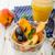 yoğurt · lezzetli · ahşap · masa · gıda · arka · plan - stok fotoğraf © peteer