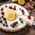 lemon cheesecake with berries stock photo © peteer