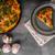 sebze · fırın · basit · vejetaryen · yemek · ahşap · arka · plan - stok fotoğraf © Peteer