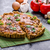 home french quiche stuffed with mushrooms tomato and leek stock photo © peteer