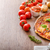 pizza · alecrim · batatas · queijo · alho · ervas - foto stock © peteer