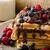 gyümölcsök · csokoládé · málna · áfonya · háttér · jég - stock fotó © Peteer