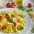 тальятелле · итальянский · цветами · помидоров · базилик - Сток-фото © Peteer