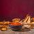 comida · mexicana · nachos · salsa · salsa · alimentos · restaurante - foto stock © peteer
