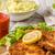 krumpli · saláta · finom · savanyúság · uborka · tyúk - stock fotó © peteer