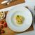 casero · tortellini · relleno · espinacas · ajo · reducción - foto stock © Peteer