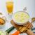 カボチャ · クリーム · スープ · トースト · 白 - ストックフォト © peteer