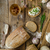 maison · pain · fraîches · fromages · ail · table - photo stock © Peteer