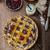 shortbread tart with cherries stock photo © peteer