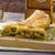 шпинат · голубой · сыр · чеснока · продовольствие · яблоко · фрукты - Сток-фото © peteer
