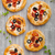 mini · salsichas · acima · mesa · de · madeira · comida - foto stock © peteer