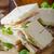 сэндвич · совета · изолированный · белый · 3d · иллюстрации · кадр - Сток-фото © peteer