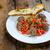 ミートボール · 辛い · トマト · サルサ - ストックフォト © peteer