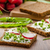 sağlıklı · ekmek · otlar · krem · peynir - stok fotoğraf © peteer