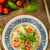 couscous · pesto · tomates · rápido · delicioso · comida · vegetariana - foto stock © peteer