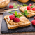 Toast with peanut butter and berries stock photo © Peteer