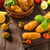 домашний · картофеля · продукт · фото · простой · черный - Сток-фото © peteer