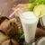 drinken · cocktail · ijs · kokosnoten - stockfoto © peteer
