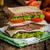 ベーコン · サンドイッチ · 白パン · トマト · ケチャップ · 食品 - ストックフォト © peteer