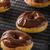ドーナツ · カラフル · 黄色 · 背景 · 脂肪 - ストックフォト © peteer