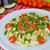 espaguetis · salsa · de · tomate · vino · tinto · cocina · casa · casa - foto stock © peteer