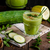 cucumber smoothie with herbs and chili stock photo © peteer