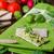 primer · plano · baguette · semillas · madera · fondo · mesa - foto stock © peteer