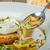 sığır · eti · et · suyu · tost · yumurta · ev · yapımı · makarna - stok fotoğraf © Peteer