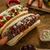 barbecue · grillezett · hot · dog · sültkrumpli · vacsora · piros - stock fotó © peteer