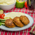 Minced meat in breadcrumbs stock photo © Peteer