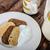 ontbijt · graan · thee · yoghurt · voedsel - stockfoto © peteer