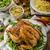 rizs · tyúk · lencse · saláta · gyógynövények · étel - stock fotó © peteer