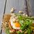 деревне · хлеб · жареный · яйца · орехи - Сток-фото © peteer