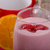 strawberry smoothie and corn flakes stock photo © peteer