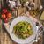 pasta with basil pesto stock photo © peteer