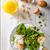 espargos · frito · ovos · prato · primavera - foto stock © peteer