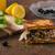 マグロ · チーズ · サンドイッチ · サラダ · 魚 · 新鮮な - ストックフォト © peteer