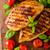 carne · verde · pimenta · caril · pão · interior - foto stock © peteer