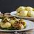 potato dumplings stuffed with smoked stock photo © peteer