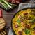 domates · ıspanak · yumurta · arka · plan · yeşil - stok fotoğraf © peteer